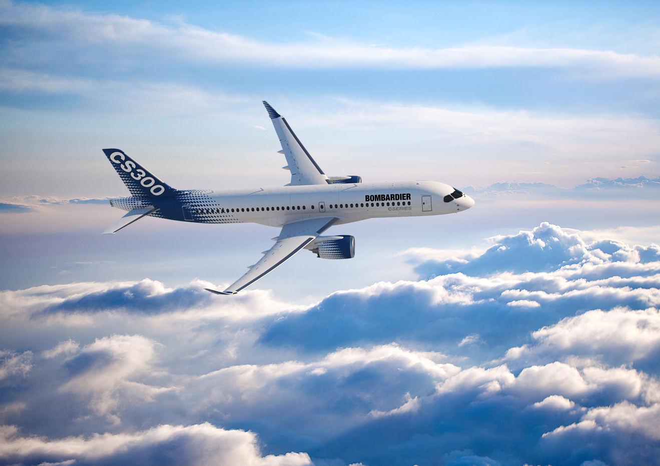 Dubai Airshow 2017: Bombardier signe avec EgyptAir pour le CS300