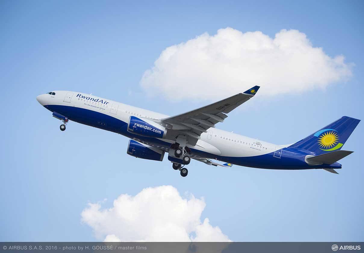 Rwandair réceptionne son premier Airbus A330