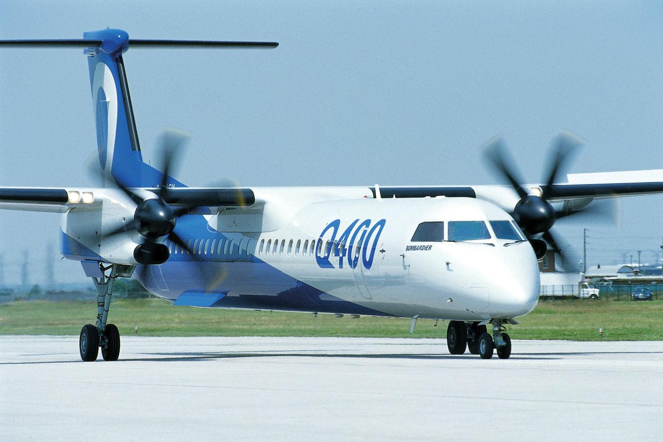 Bombardier va vendre son programme d'avions Q400