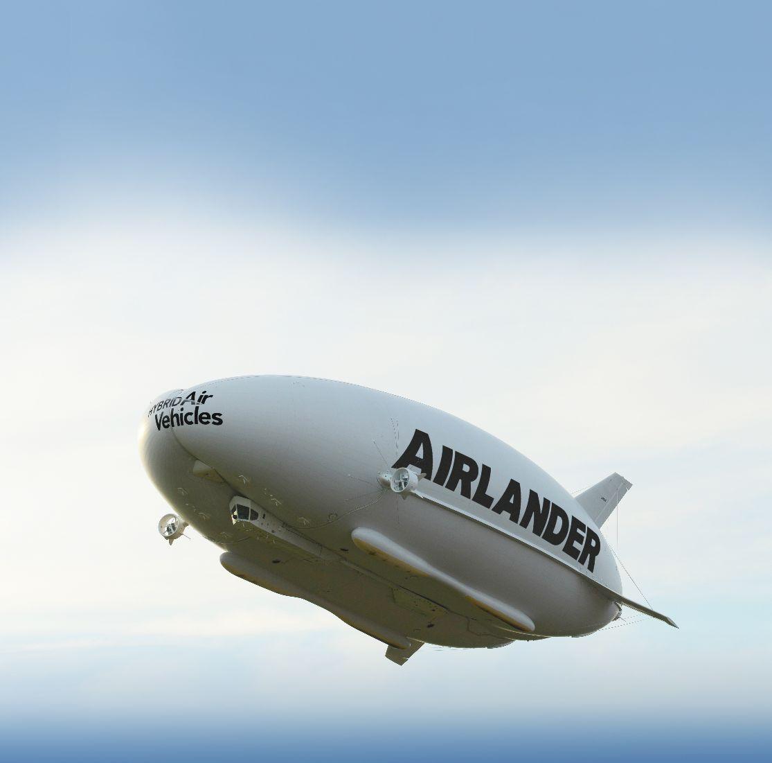 "L'Airlander 10 se ""crashe"" au ralenti lors de son atterrissage"