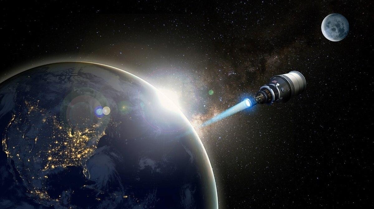La fusée nucléaire de la Darpa