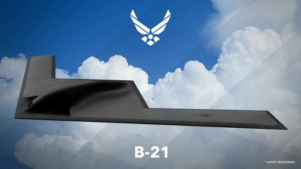Le dessin du LRS-B, alias B-21, révélé