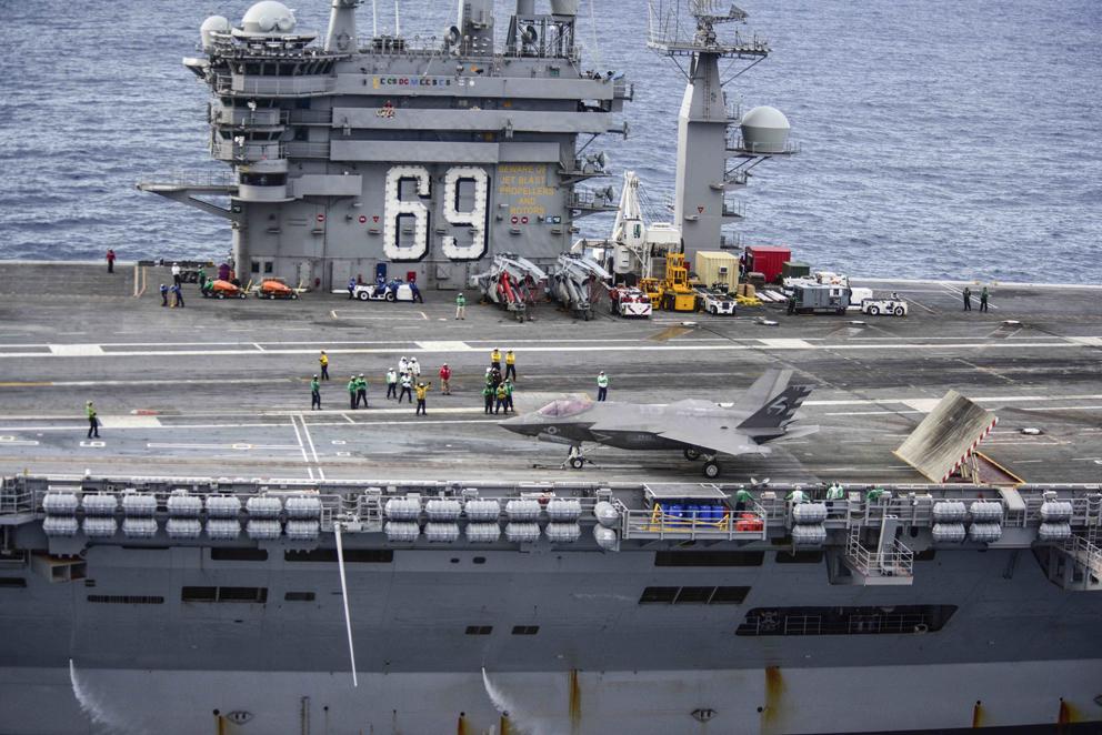 Seconde phase d'essais pour le F-35C sur le CVN 69
