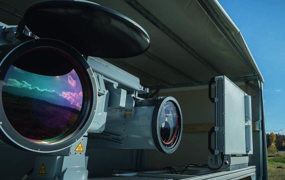 Hensoldt demonstrates counter-UAV system