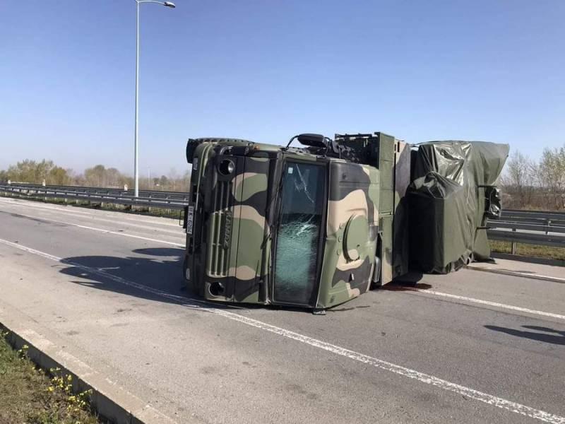 Serbie: Accident d'un véhicule Pantsir-S1