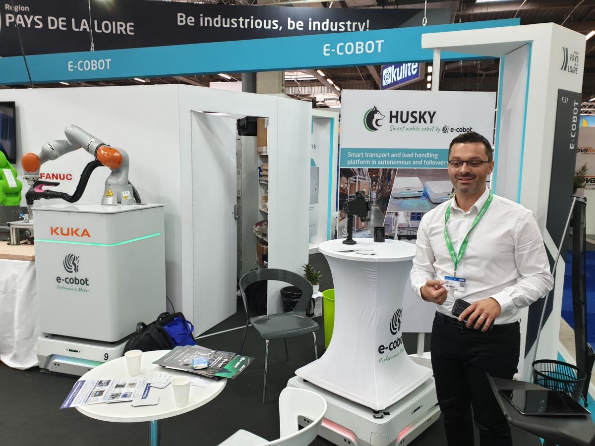 Bourget 2019 : E-COBOT se développe tous azimuts