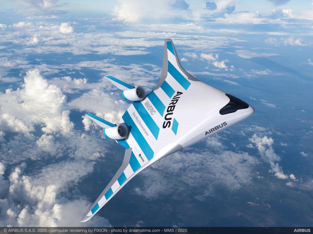 """Singapore Airshow 2020 : Airbus dévoile le démonstrateur """"MAVERIC"""""""