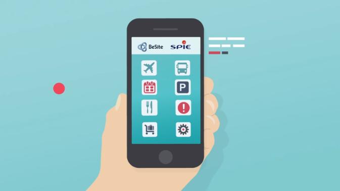 SPIE lance une application pour mieux s'orienter en aéroport