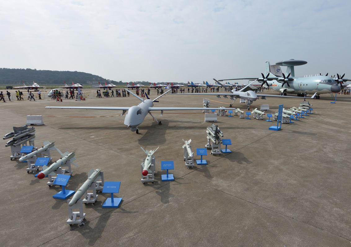 Focus sur les drones militaires chinois