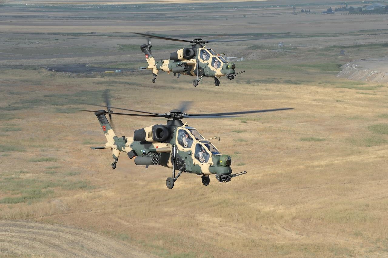 La Turquie réceptionne officiellement un premier hélicoptère d'attaque T-129