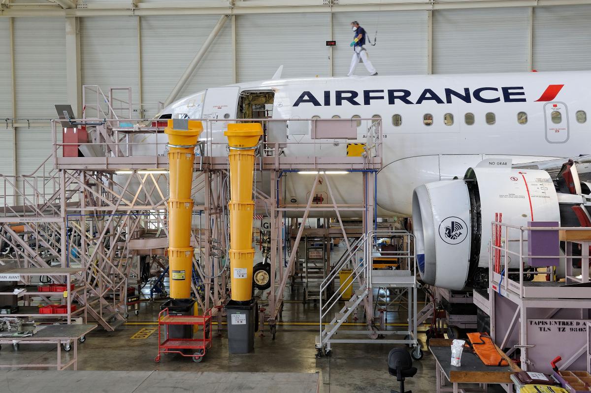 Air France Industries est déjà dans la reprise
