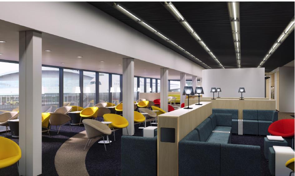 Hop ! Air France inaugure son nouveau salon à Orly Ouest