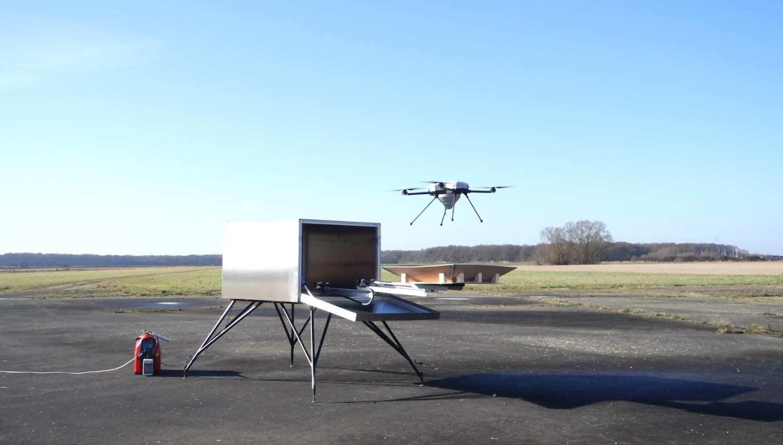 Drone Hive conçoit des ruches pouvant accueillir des drones
