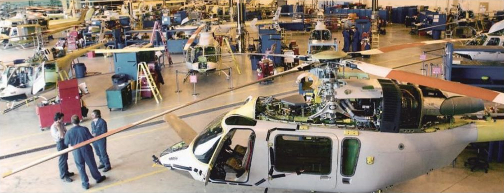 Bell Helicopter va licencier 1 100 salariés
