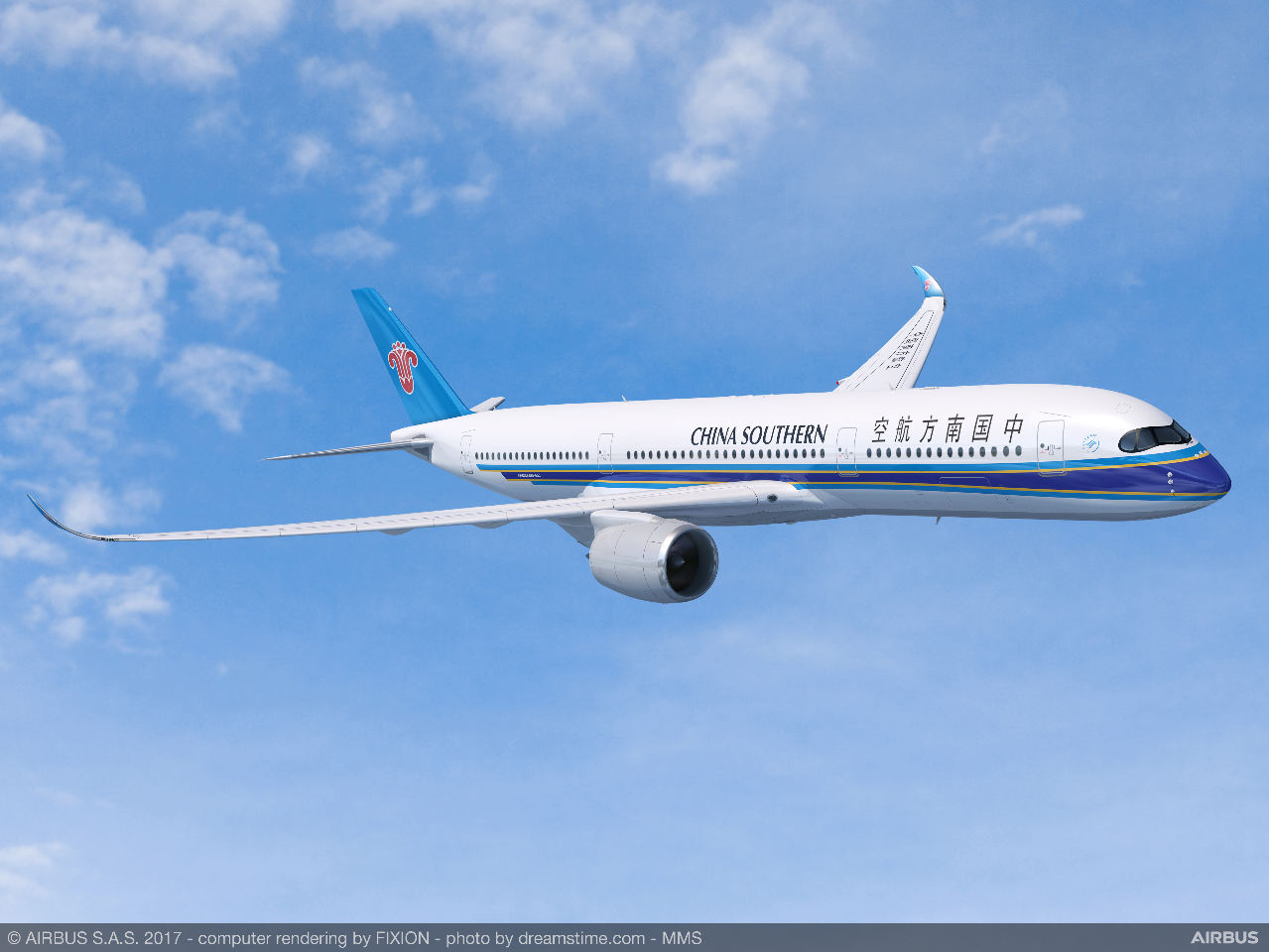 China Southern commande 20 Airbus A350