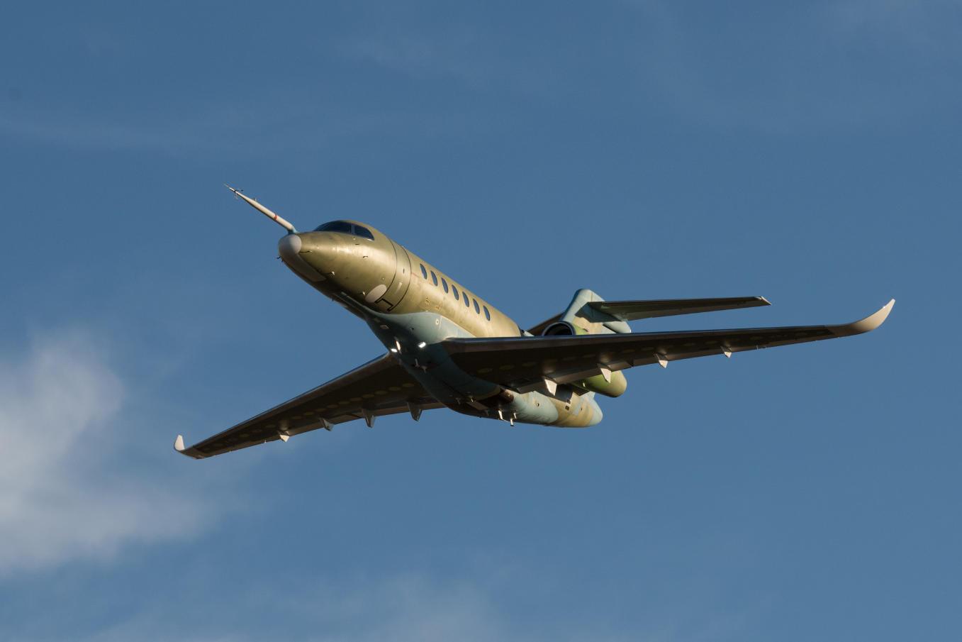 Le second Cessna Longitude s'envole