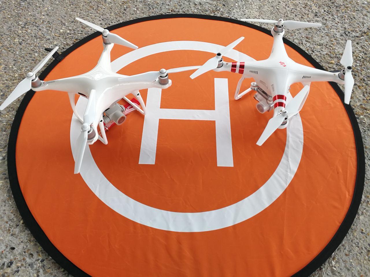 L'association met à disposition des sapeurs-pompiers des drones et des télépilotes.