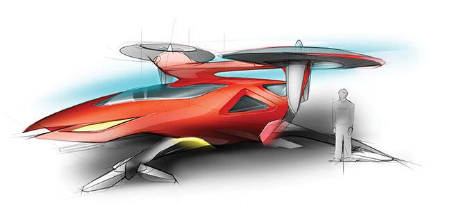 Boeing travaille aussi sur des projets de multicoptères