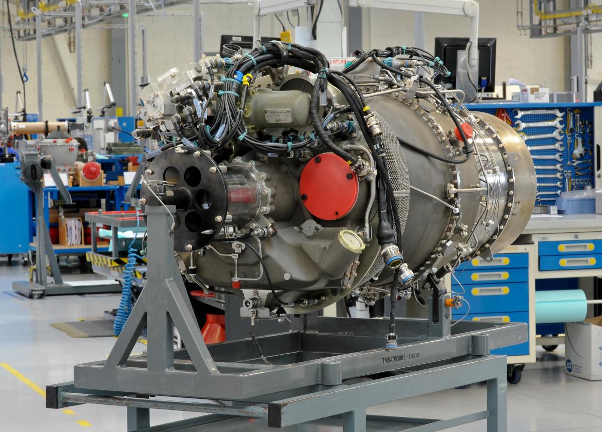 Safran et AECC présentent le WZ16, premier moteur aéronautique développé en coopération certifié en Chine