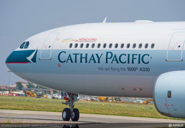 Les profits de Cathay Pacific plongent au premier semestre 2016
