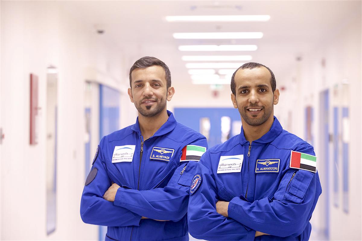 Deux astronautes émiriens attendus à Houston