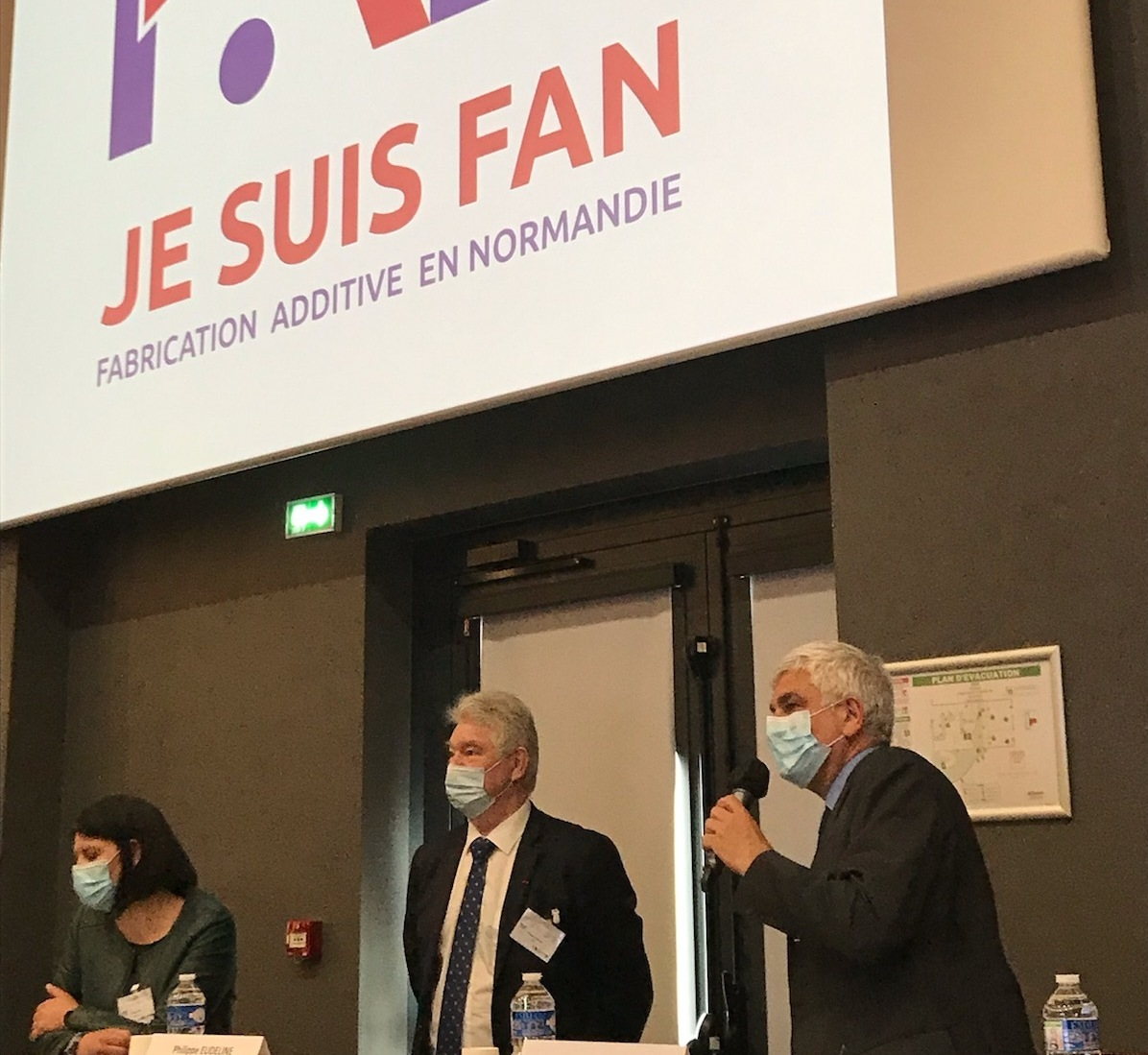 Le cluster NAE lance sa marque Fabrication Additive en Normandie