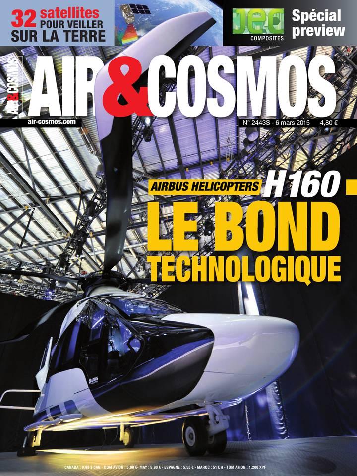 Archives numériques : Airbus Helicopters révèle le H160, JEC Composites, dans Air&Cosmos 2443S du 6 mars 2015