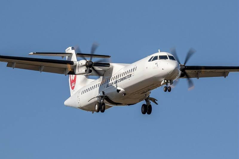 ATR mise sur un marché de 100 avions au Japon