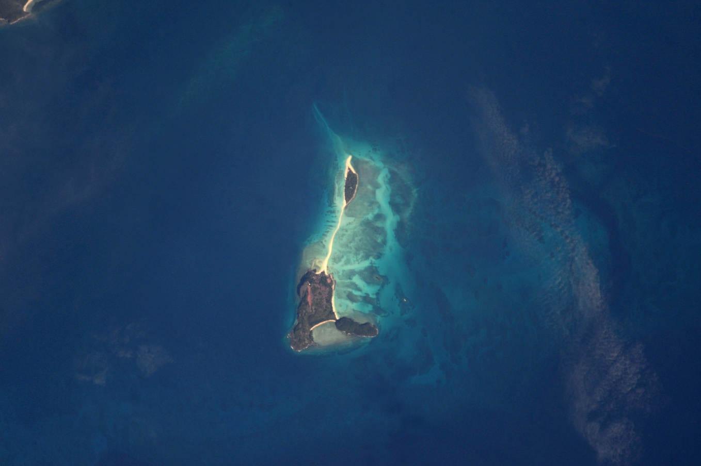 La Terre dans l'oeil de Thomas Pesquet #76 : Nosy Iranja ou l'île aux tortues