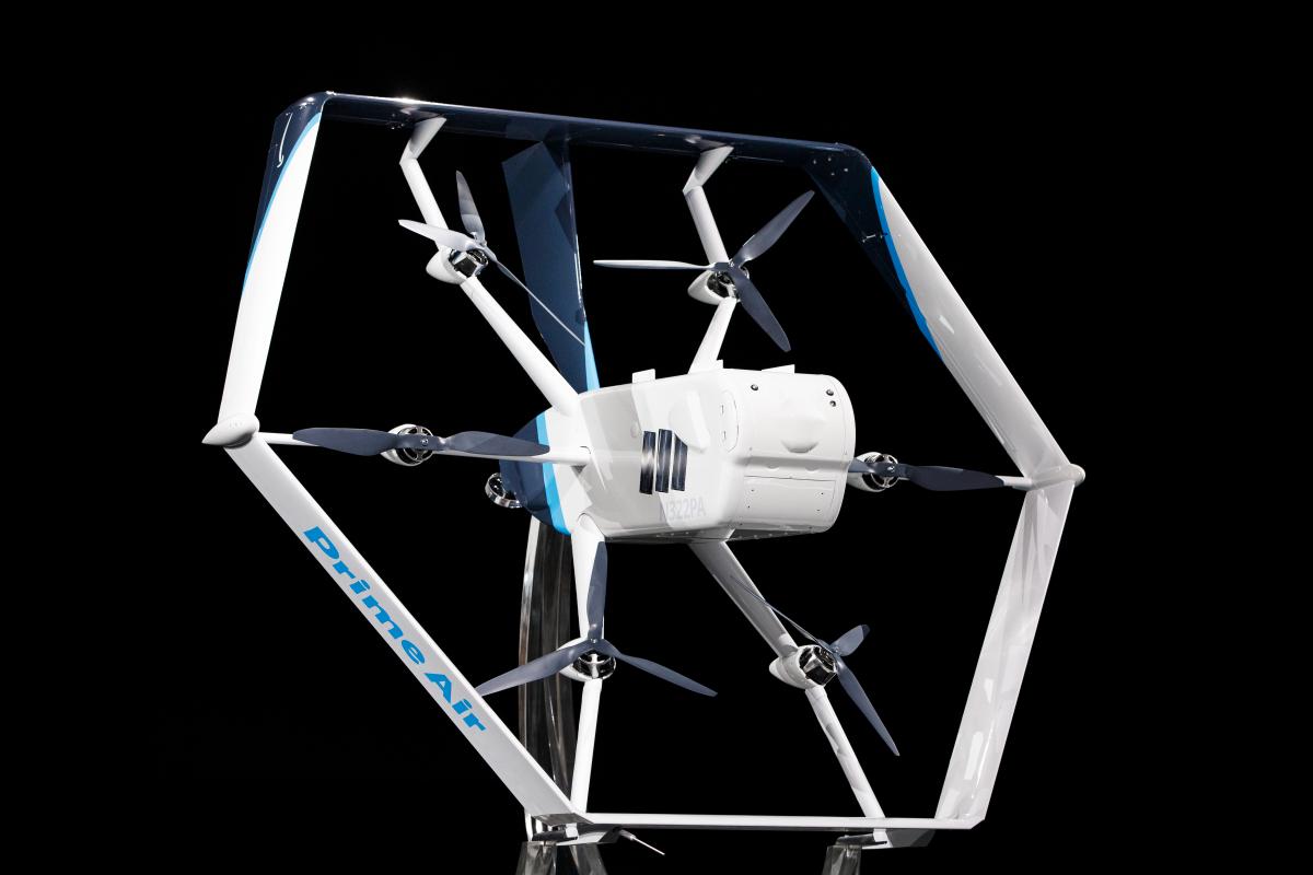Amazon renforce la sécurité de ses drones pour les services de livraison