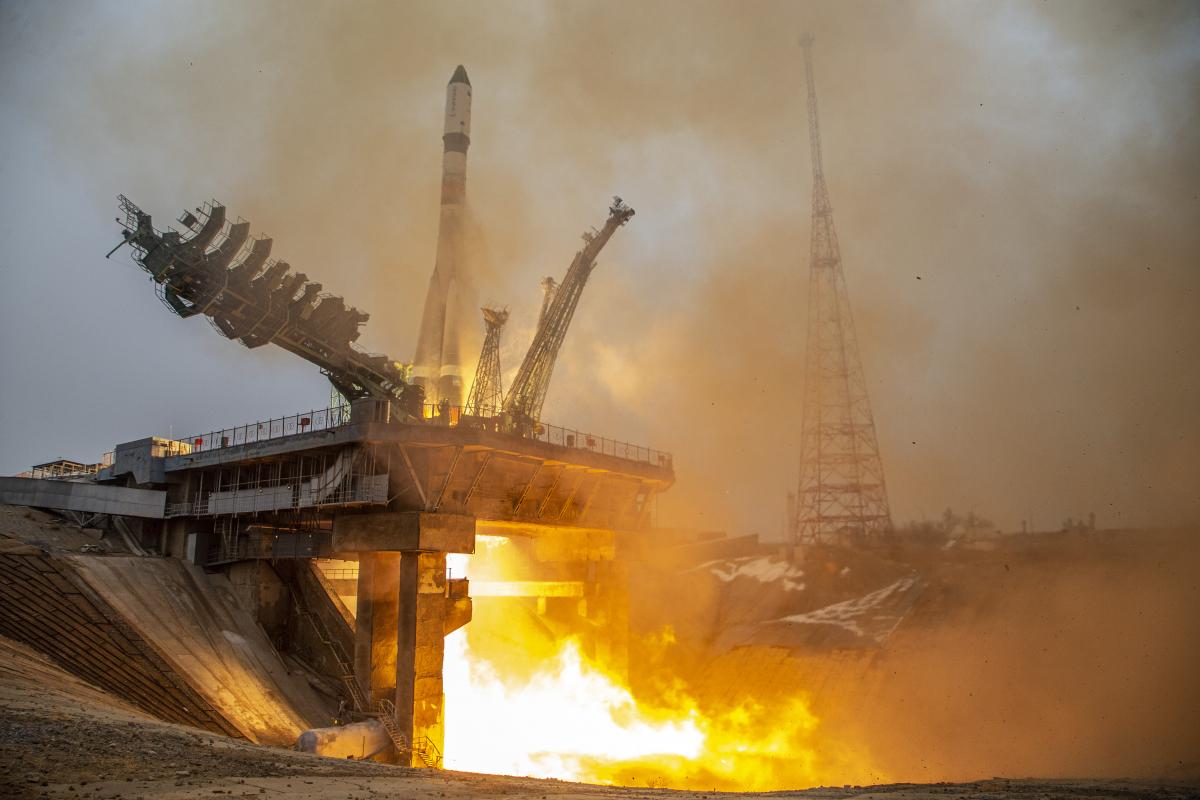 Premier ravitaillement de l'ISS de 2021