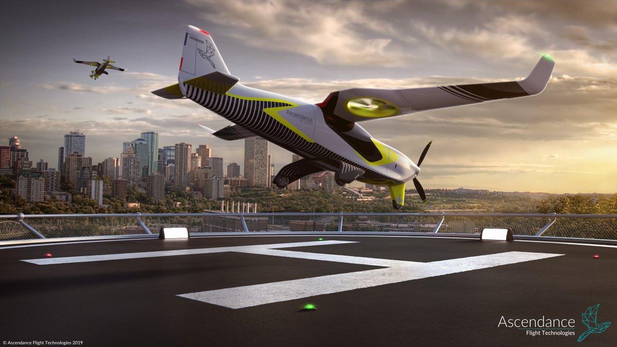 Ascendance Flight Technologies pousse son VTOL hybride