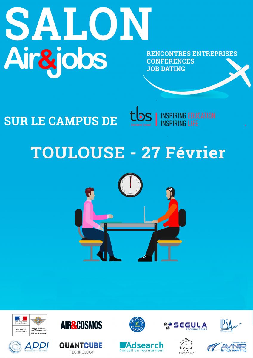Salon Air&Jobs Toulouse - 27/02/2020