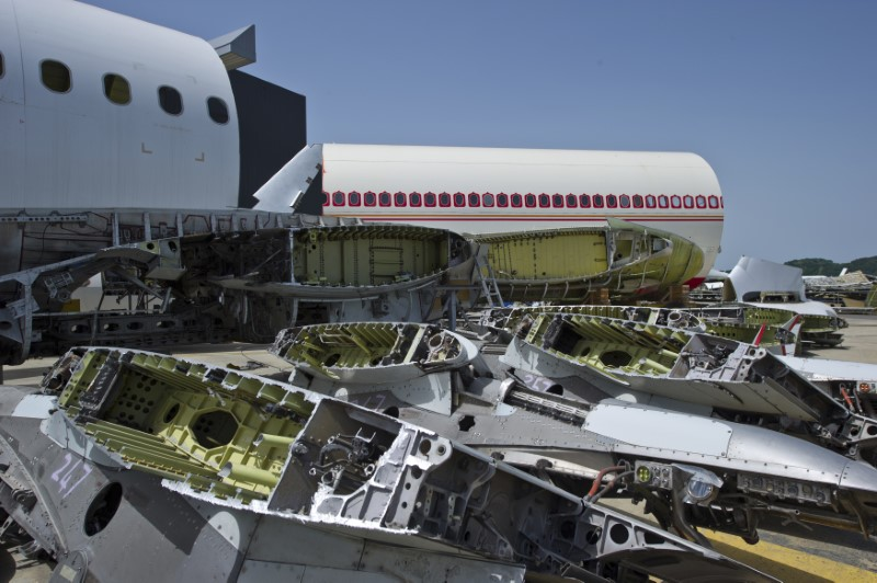 Airbus veut accélérer dans le recyclage avions