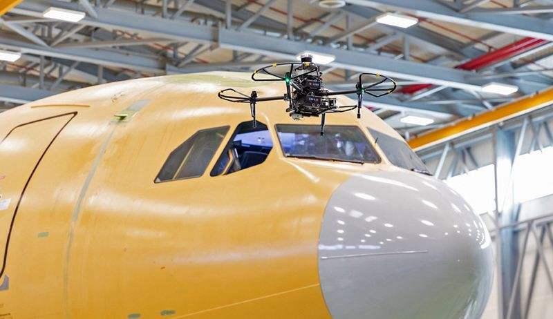 L'armée de l'air espagnole bénéficiera de la maintenance par drones d'Airbus