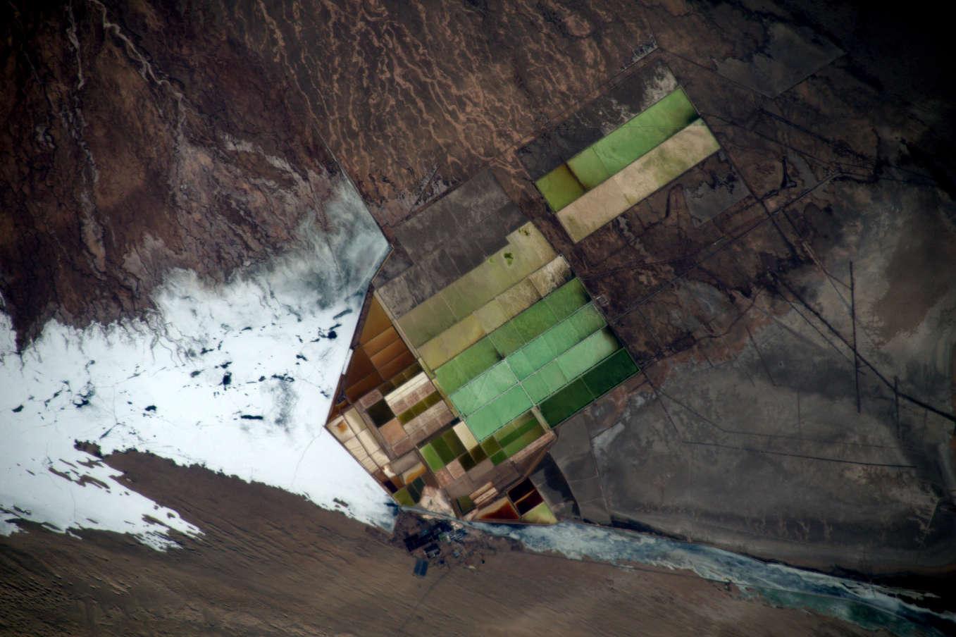 La Terre dans l'oeil de Thomas Pesquet #52 : le lac Taiji Nai'er