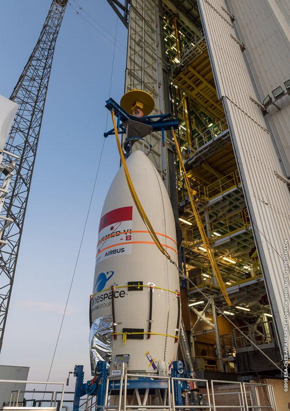 Le second satellite Mohammed VI lancé par Arianespace