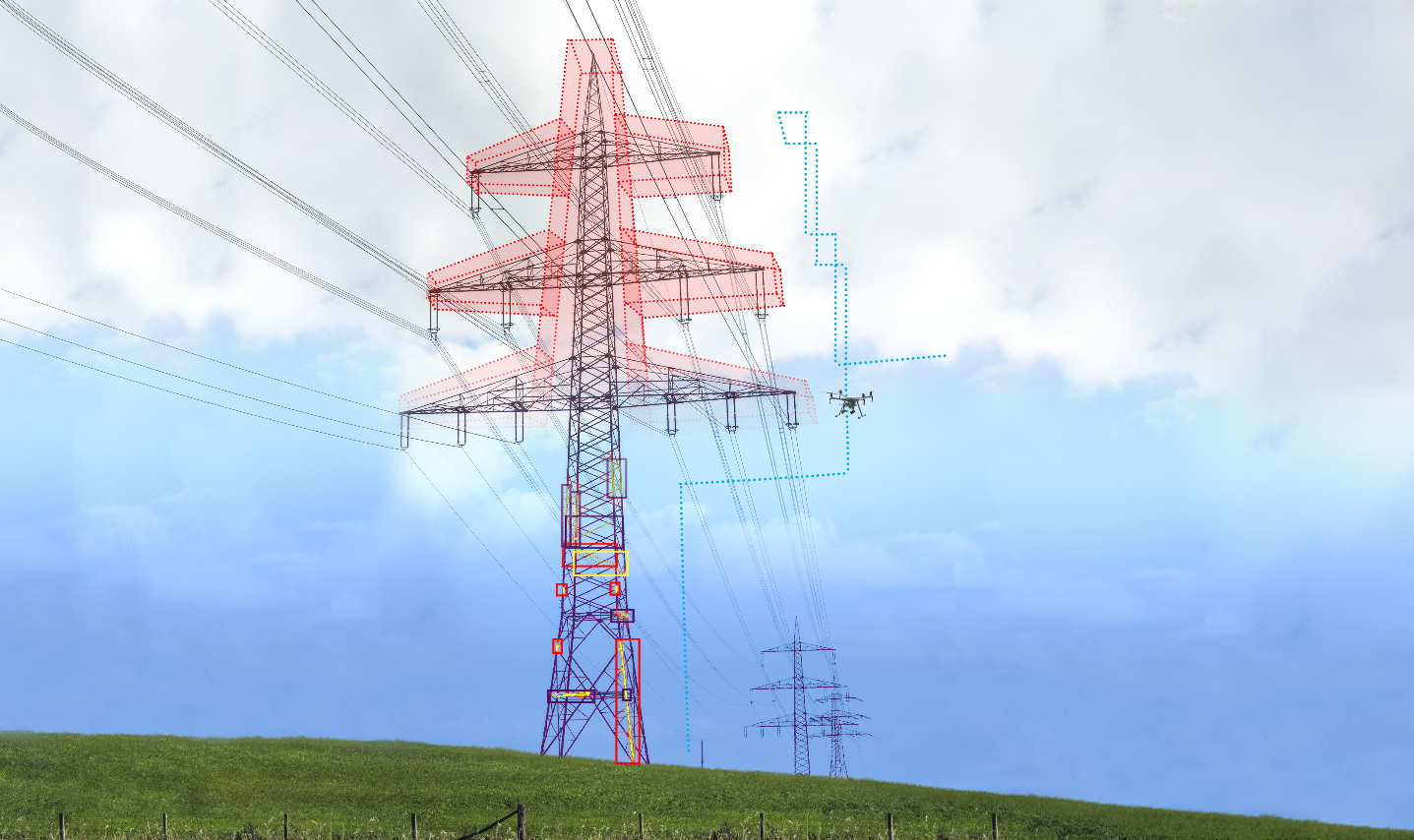 Drones : un logiciel pour l'inspection d'infrastructures électriques