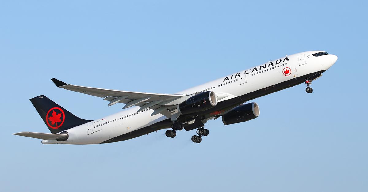 Air Canada va lancer un vol Toulouse-Montréal annuel