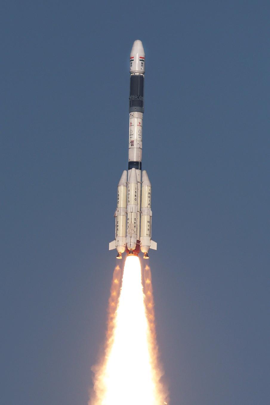 Le GSLV Mk II indien réussit son premier vol opérationnel
