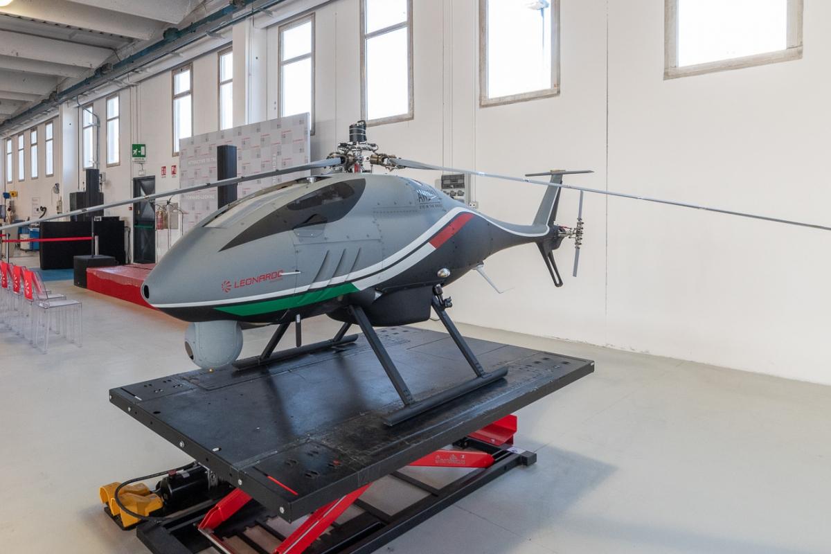 Formation: Leonardo intègre les drones