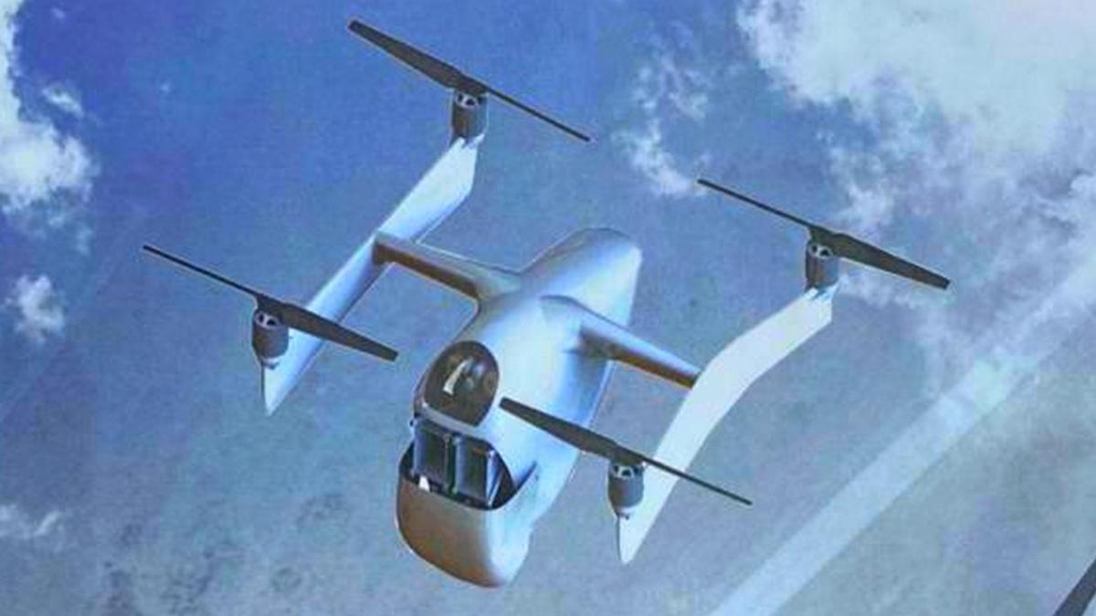 Almaz-Antey présente son drone anti-drone