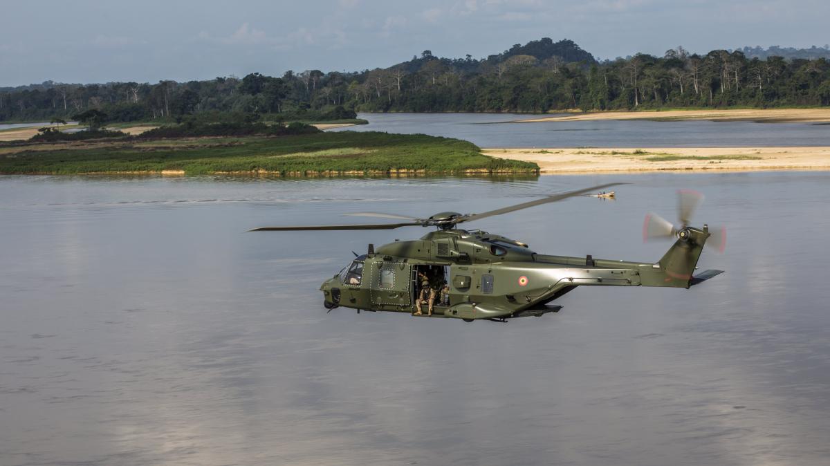 La Défense belge au cœur de l'Afrique