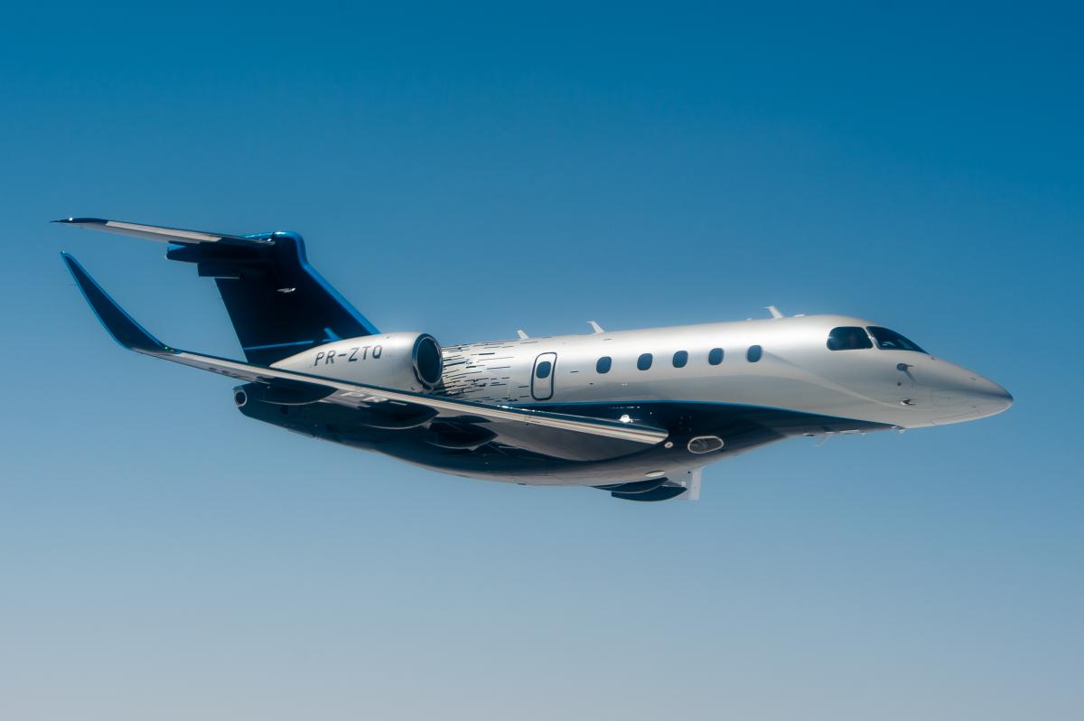 L'Embraer Preator 500 certifié FAA et Aesa