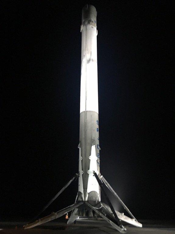 Et de cinq pour SpaceX