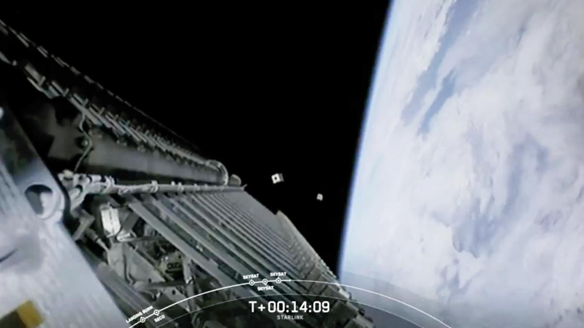 Premier lancement partagé pour SpaceX