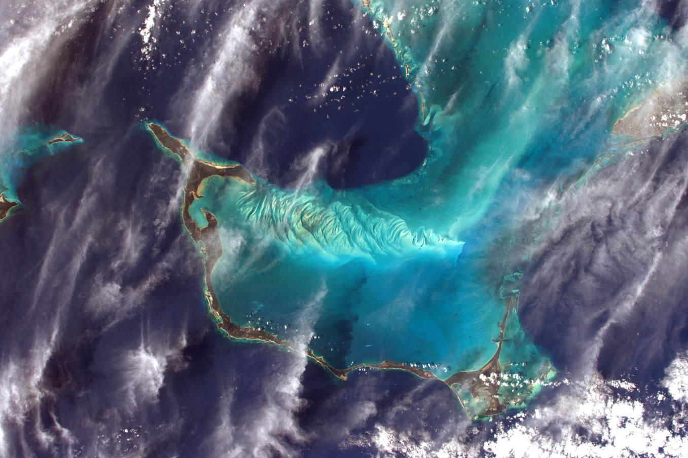 La Terre dans l'oeil de Thomas Pesquet #74 : Eleuthera, au Bahamas