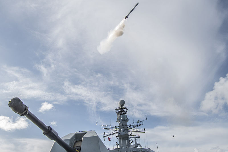 Sea Ceptor missile enters service with Royal Navy