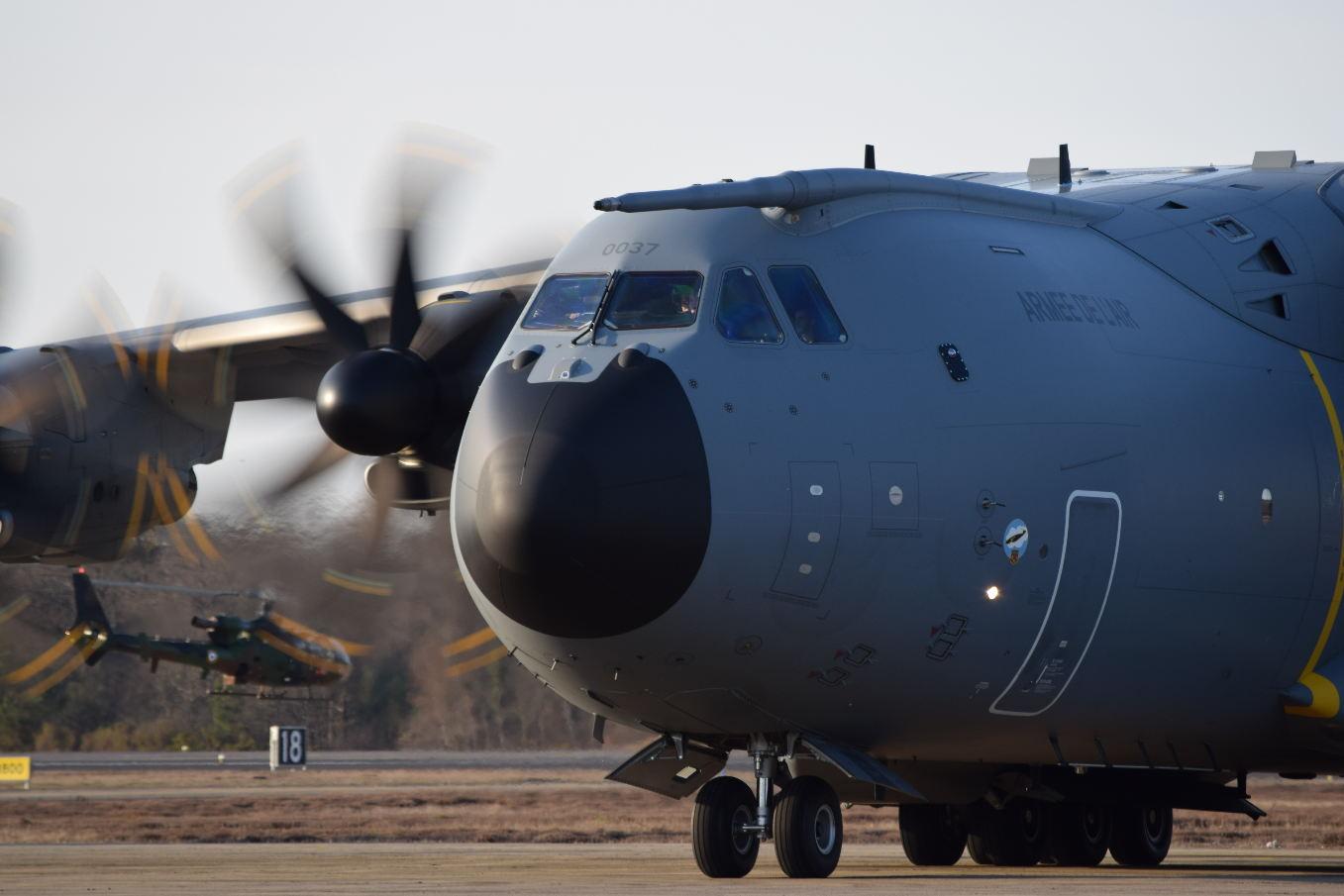 """Airbus : """"L'A400M reste un sujet de préoccupation"""""""