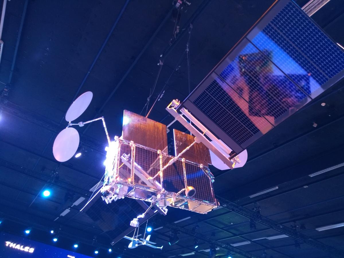 Le système Space Inspire de Thales Alenia Space s'expose à la Défense